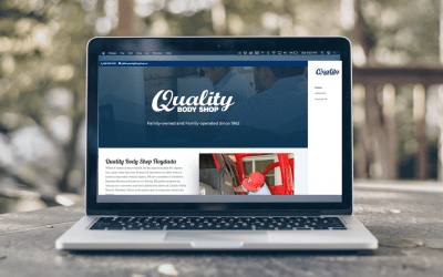 Quality Body Shop: New Website