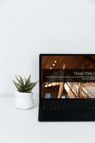 Texas Tree House: Website Redesign